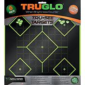 TRUGLO Tru-See Splatter 5-Diamond Target – 6 Pack