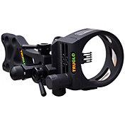 TRUGLO TSX Pro Series Micro-Adjust 5-Pin Bow Sight - RH/LH