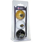 Team Golf Jacksonville Jaguars Golf Balls – 3 Pack