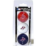 Team Golf Atlanta Braves Golf Balls - 3-Pack