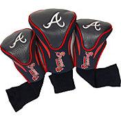 Team Golf Atlanta Braves Contoured Headcovers - 3-Pack
