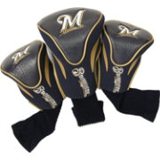 Team Golf Milwaukee Brewers Contoured Headcovers - 3-Pack