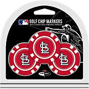 Team Golf St. Louis Cardinals Poker Chips Ball Markers - 3-Pack