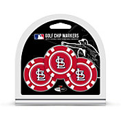 Team Golf St. Louis Cardinals Poker Chips Ball Markers - 3-Pack