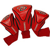 Team Golf Arizona Diamondbacks 3-Pack Contoured Headcovers
