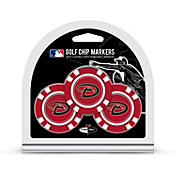 Team Golf Arizona Diamondbacks Poker Chips Ball Markers - 3-Pack