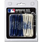 Team Golf Los Angeles Dodgers 2.75'' Golf Tees - 50 Pack
