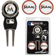 Team Golf Miami Marlins Divot Tool and Marker Set