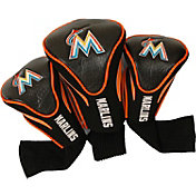 Team Golf Miami Marlins Contoured Headcovers - 3-Pack
