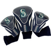 Team Golf Seattle Mariners Contoured Headcovers - 3-Pack