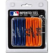Team Golf New York Mets 2.75'' Golf Tees - 50 Pack