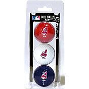 Team Golf Cleveland Indians Golf Balls - 3-Pack