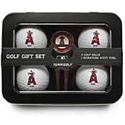 Team Golf Los Angeles Angels 4-Ball Tin Set