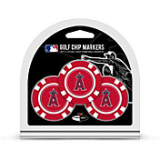 Team Golf Los Angeles Angels Poker Chips Ball Markers - 3-Pack