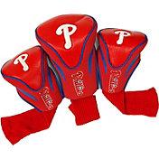 Team Golf Philadelphia Phillies Contoured Headcovers - 3-Pack