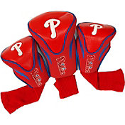 Team Golf Philadelphia Phillies Contoured Headcovers - 3-Pack