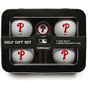 Team Golf Philadelphia Phillies 4-Ball Tin Set
