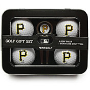Team Golf Pittsburgh Pirates 4-Ball Tin Set