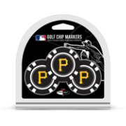 Team Golf Pittsburgh Pirates Poker Chips Ball Markers - 3-Pack