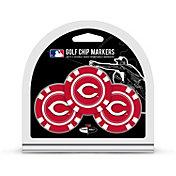Team Golf Cincinnati Reds Poker Chips Ball Markers - 3-Pack