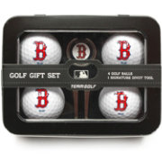 Team Golf Boston Red Sox 4-Ball Tin Set