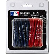 Team Golf Boston Red Sox 2.75'' Golf Tees - 50 Pack