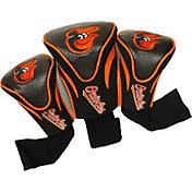 Team Golf Baltimore Orioles Contoured Headcovers - 3-Pack