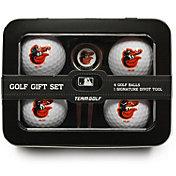 Team Golf Baltimore Orioles 4-Ball Tin Set