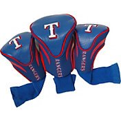 Team Golf Texas Rangers Contoured Headcovers - 3-Pack