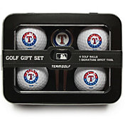 Team Golf Texas Rangers 4-Ball Tin Set