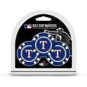 Team Golf Texas Rangers Poker Chips Ball Markers - 3-Pack