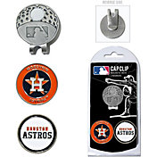 Team Golf Houston Astros Cap Clip and Marker Set