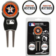 Team Golf Houston Astros Divot Tool and Marker Set