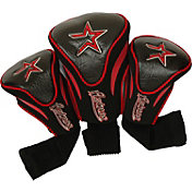 Team Golf Houston Astros Contoured Headcovers - 3-Pack