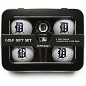 Team Golf Detroit Tigers 4-Ball Tin Set