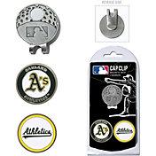 Team Golf Oakland Athletics Cap Clip and Marker Set