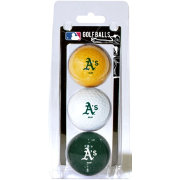 Team Golf Oakland Athletics Golf Balls - 3-Pack