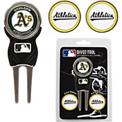 Team Golf Oakland Athletics Divot Tool and Marker Set