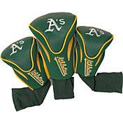 Team Golf Oakland Athletics Contoured Headcovers - 3-Pack
