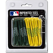 Team Golf Oakland Athletics 2.75'' Golf Tees - 50 Pack