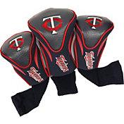 Team Golf Minnesota Twins Contoured Headcovers - 3-Pack