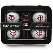 Team Golf Minnesota Twins 4-Ball Tin Set