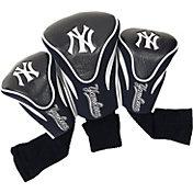 Team Golf New York Yankees Contoured Headcovers - 3-Pack