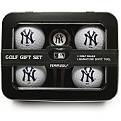 Team Golf New York Yankees 4-Ball Tin Set