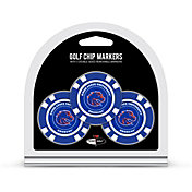 Team Golf Boise State Broncos Poker Chips Ball Markers - 3-Pack