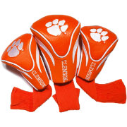 Team Golf Clemson Tigers Contour Headcovers - 3-Pack