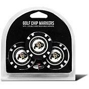Team Golf Colorado Buffaloes Poker Chips Ball Markers - 3-Pack