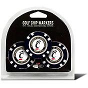 Team Golf Cincinnati Bearcats Poker Chips Ball Markers - 3-Pack