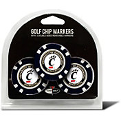 Team Golf Cincinnati Bearcats Poker Chips Ball Markers - 3-Pack