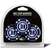 Team Golf Duke Blue Devils Poker Chips Ball Markers - 3-Pack